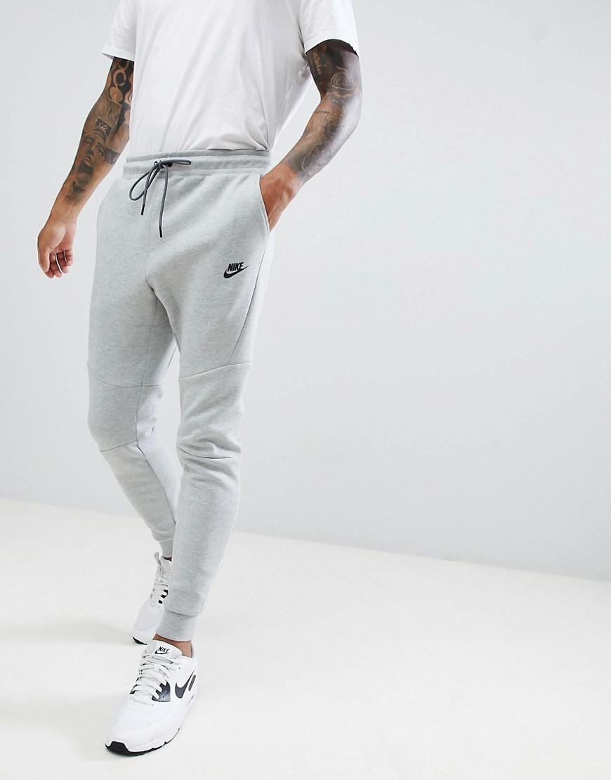 fb1cd5b6d12 Nike Tech Fleece Jogger In Grey 805162-063 in Gray for Men - Lyst