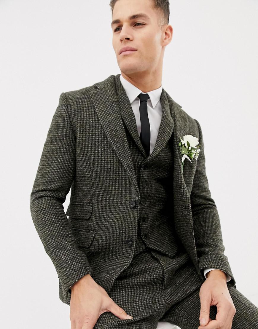 Vintage Fashion Guild Label Resource Harris Tweed