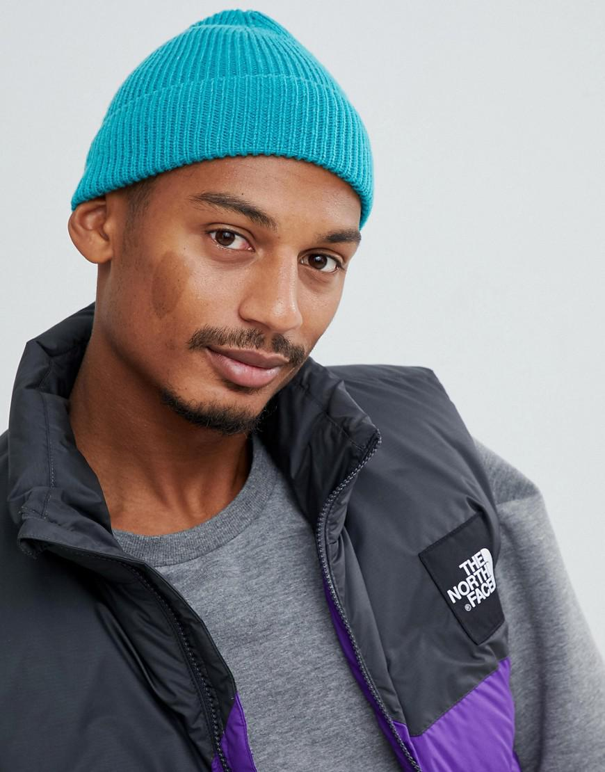 4dc9edfd33c Lyst - ASOS Fisherman Beanie In Teal in Green for Men