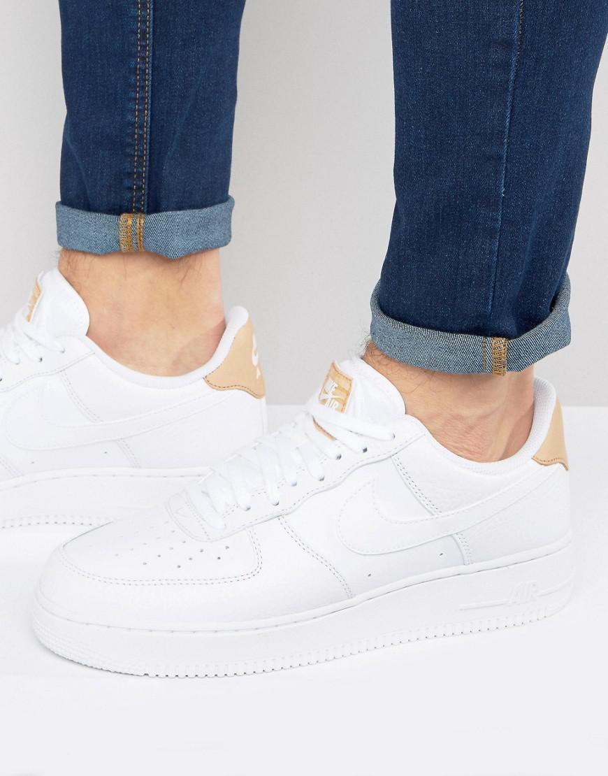 new concept 57e87 07946 Gallery. Nike - Air Force 1 Lv8 Trainers In White 718152-108 for Men - Lyst