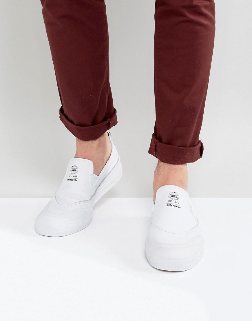 new product bd9d8 f941c adidas Originals Adidas Skateboardnig Matchcourt Slip-on Sne