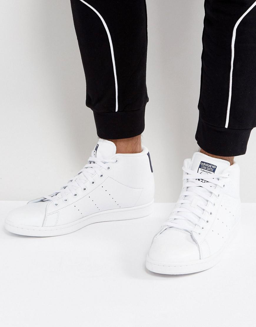 adidas originals stan smith turnschuhe in weiß bb0070 in weiß