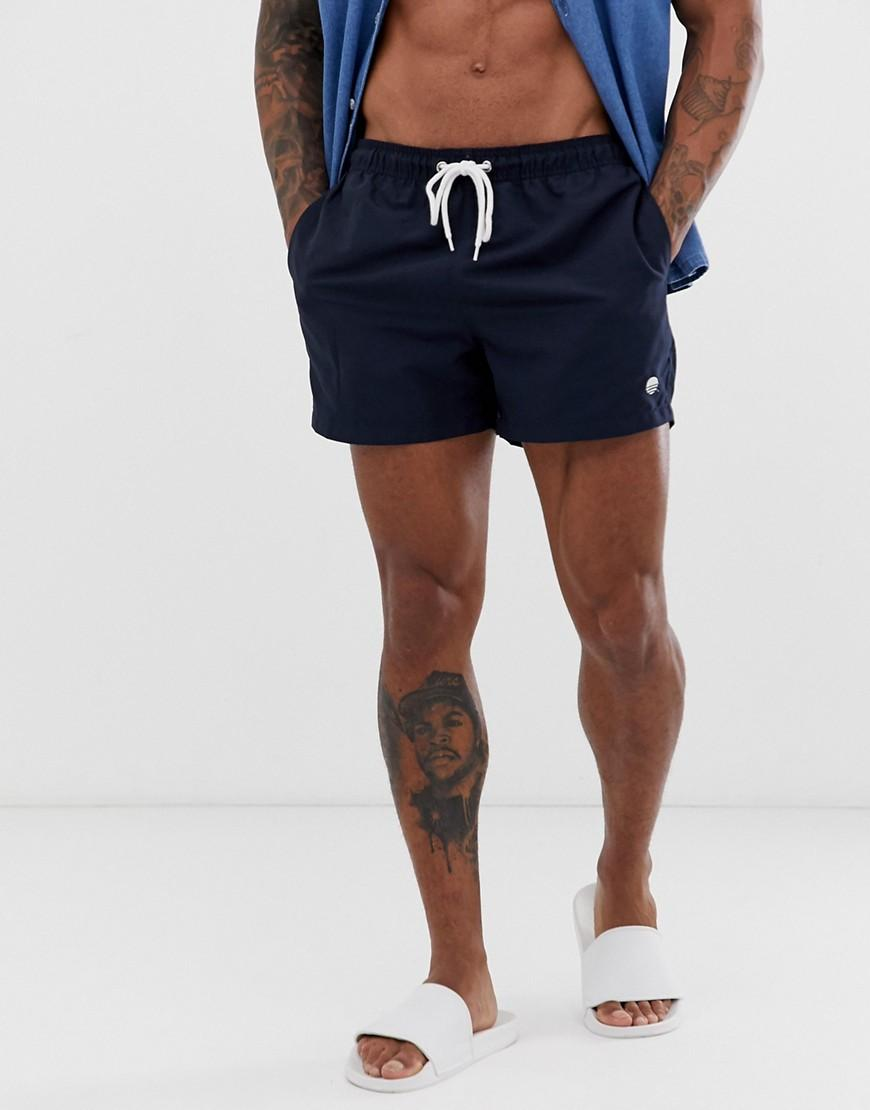 fbd840543dcf0 New Look Swim Shorts In Navy in Blue for Men - Lyst