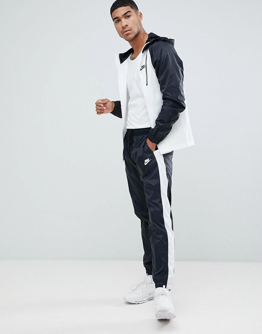 e3d6634465 Nike Colour Block Tracksuit Set In Black 928119-011 in Black for Men ...