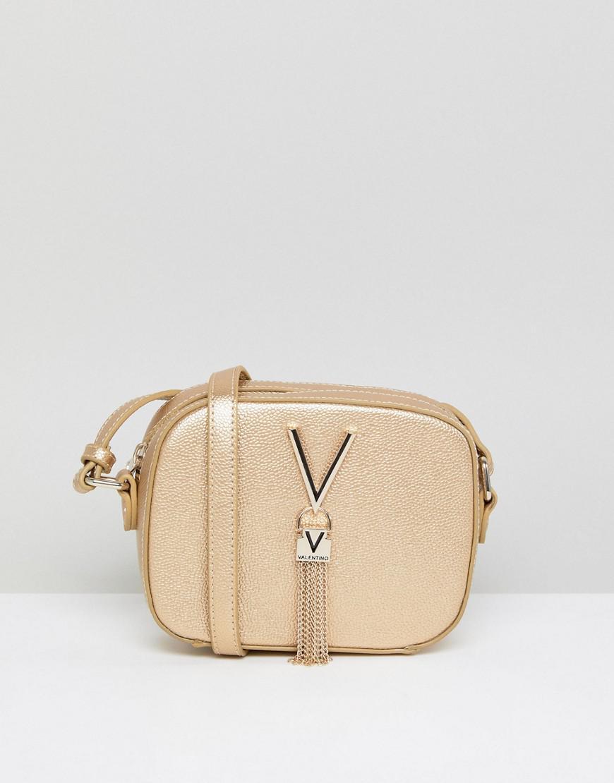 cdc463e7b Valentino By Mario Valentino Tassel Detail Camera Cross Body Bag in ...