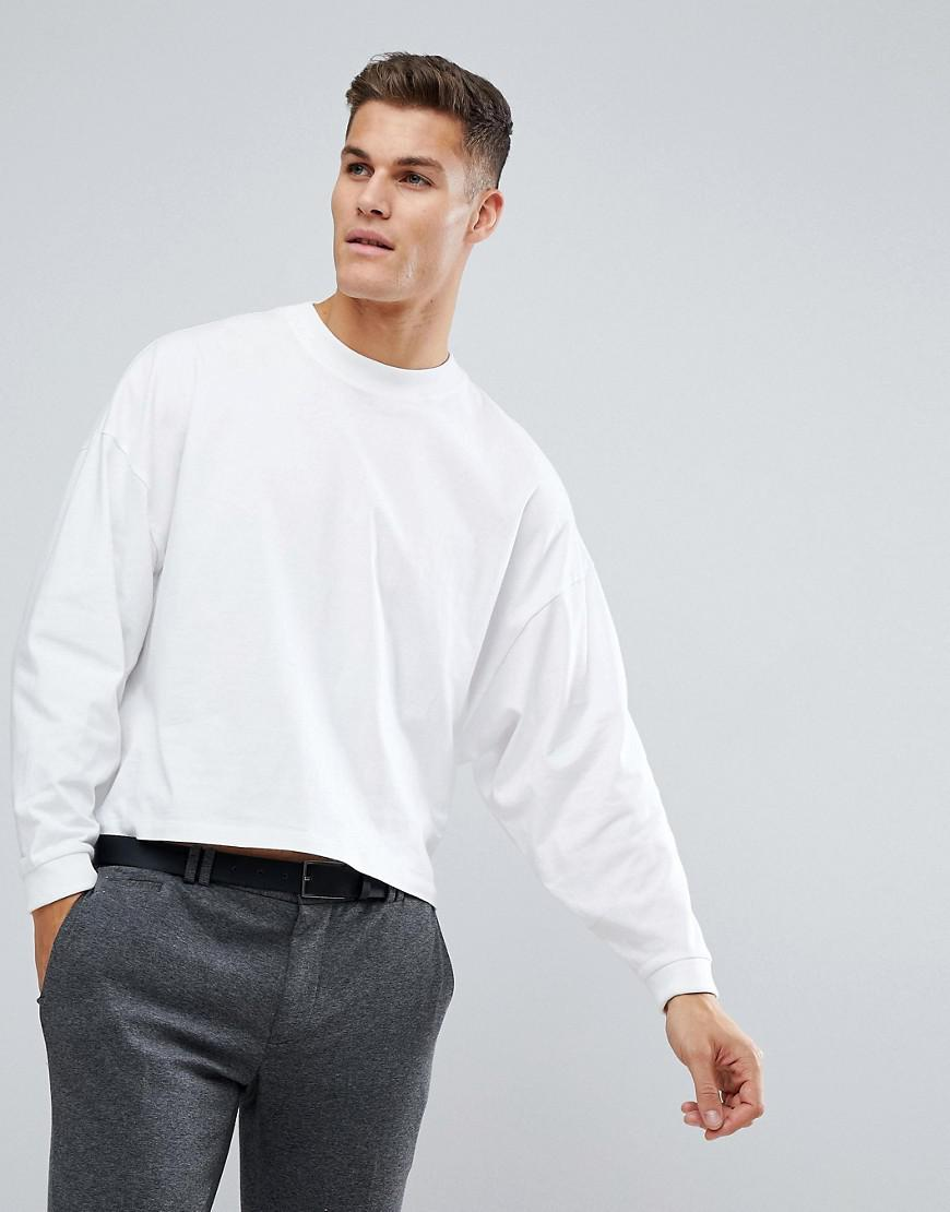 ed4aa0ac7292 ASOS Asos Oversized Long Sleeve T-shirt With Extreme Batwing In ...