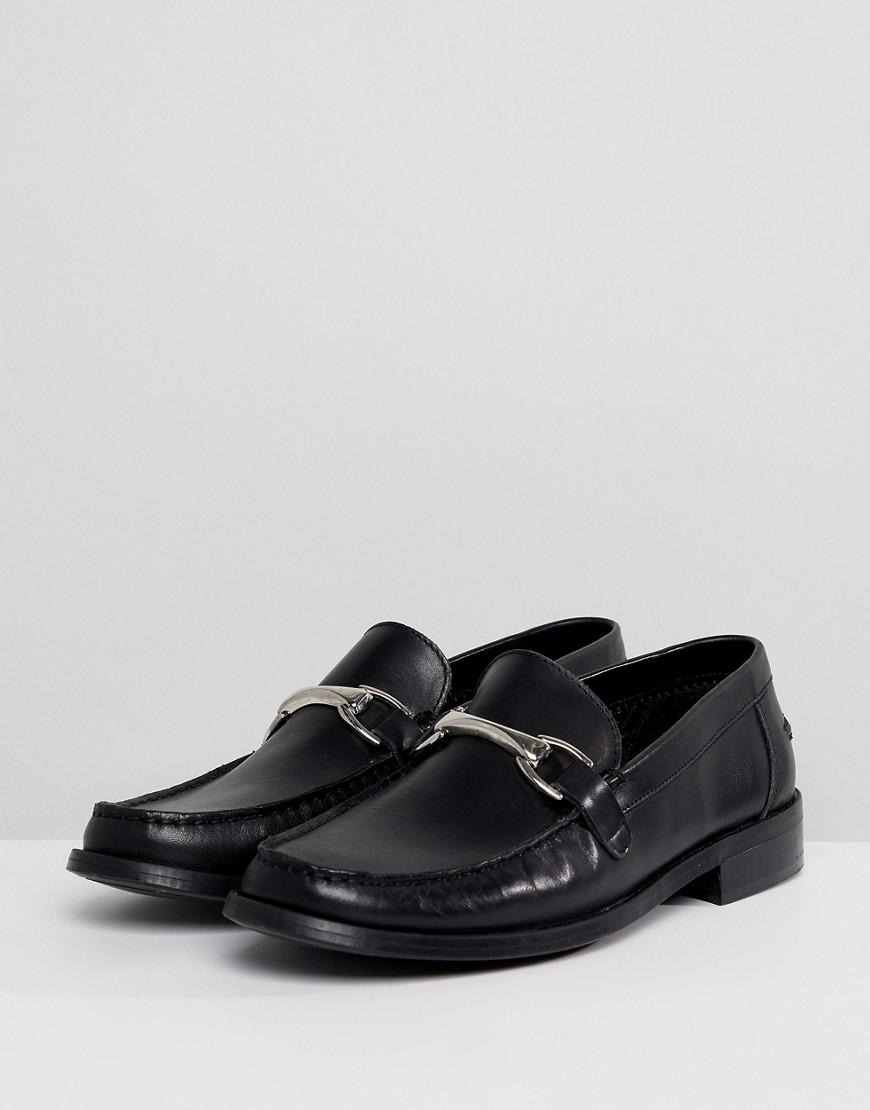 discount in China buy cheap best place New Look Faux Leather Loafers With Tassels In Black original ebay online cheap sale footlocker pictures 9xuIaXOO6