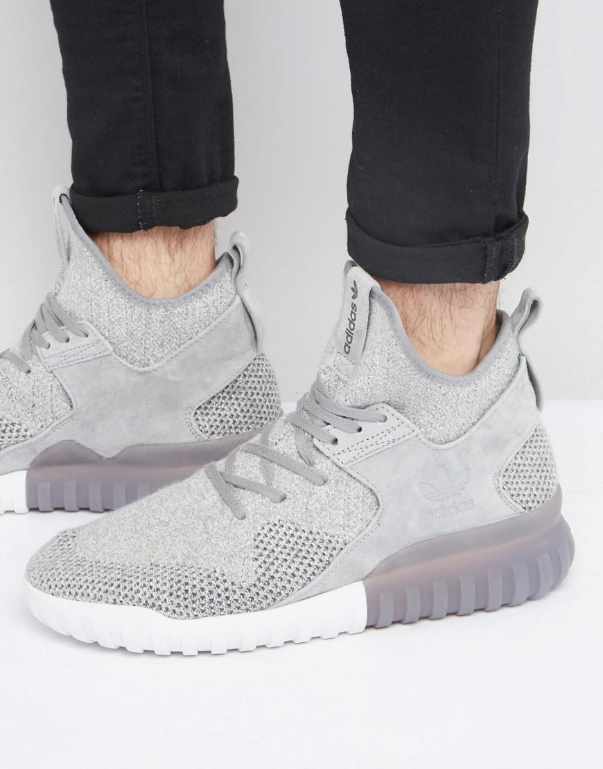 Adidas Originals Tubular X Bb2380 Pk Sneakers In Gris Bb2380 X in Gris for 1a4364