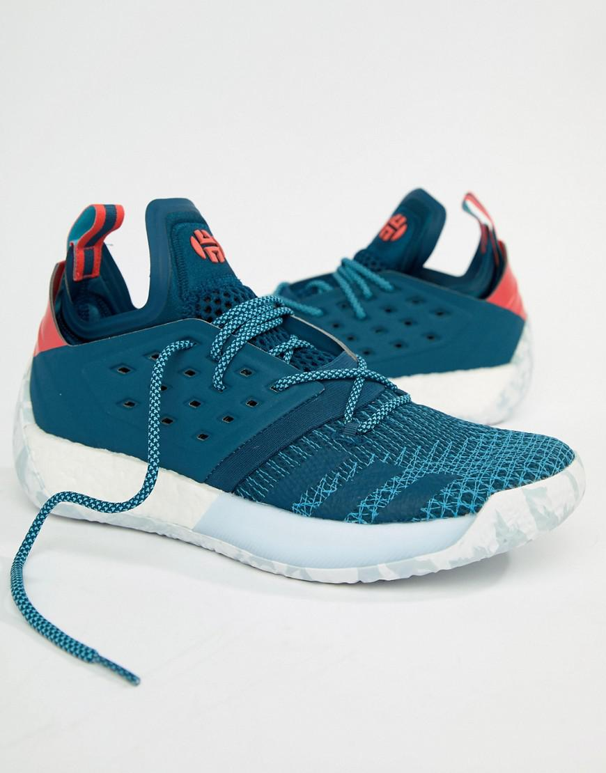 7fdef0afe47 adidas Basketball X Harden Vol 2 All American Trainers In Blue ...