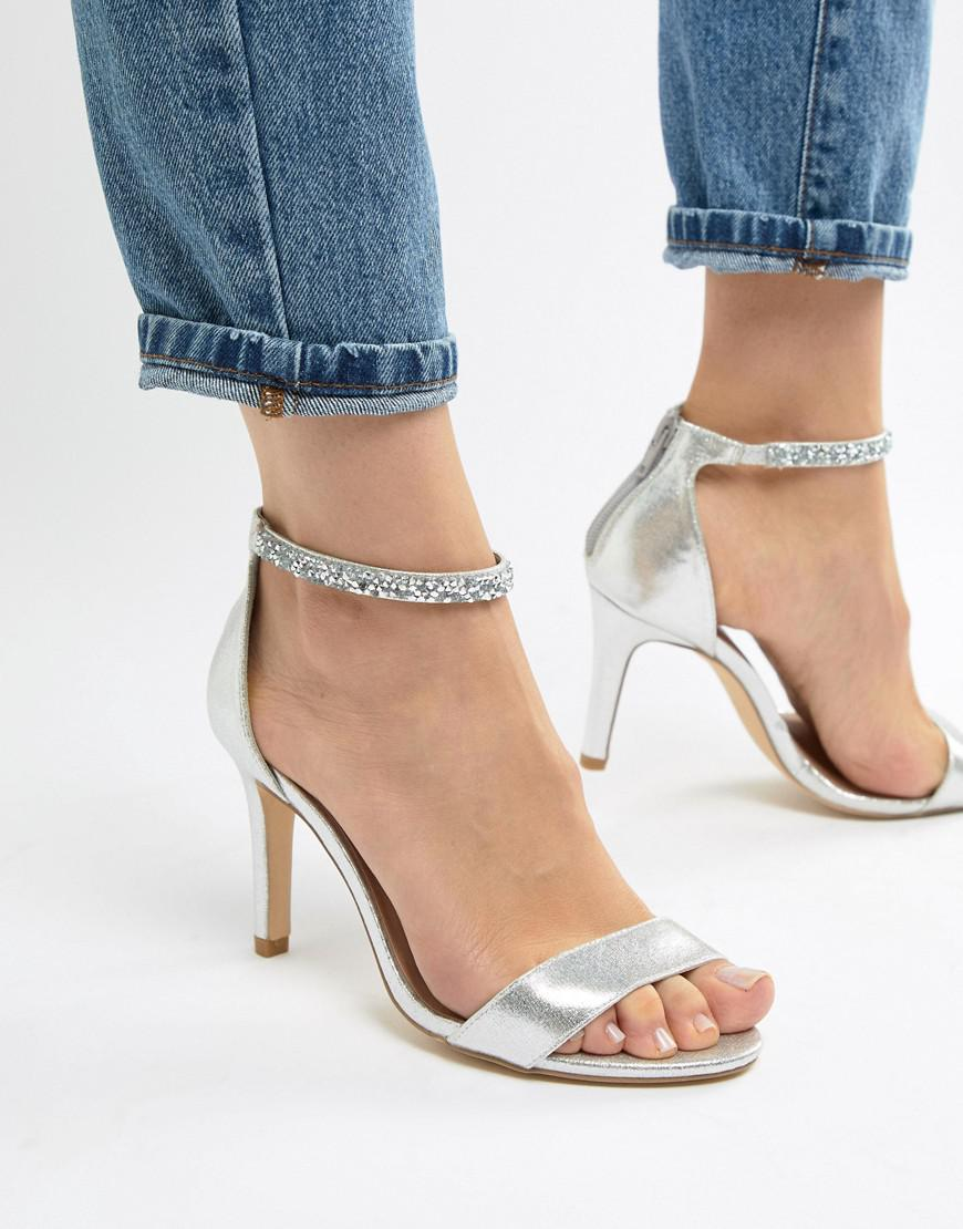 New Look Wide Fit Bling Ankle Strap Heeled Sandal visit for sale browse cheap price very cheap sale online footlocker pictures cheap price Okaxx
