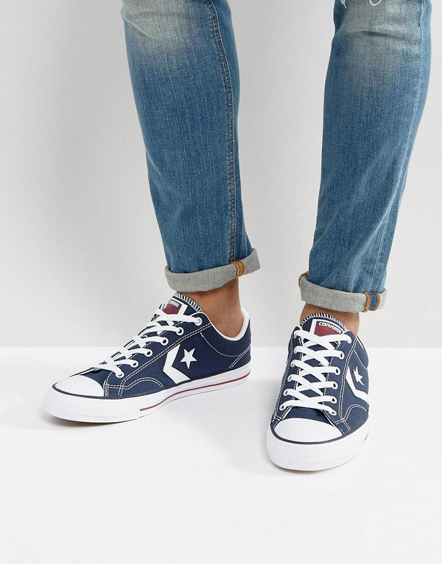 88027827d639 Converse - Blue Star Player Sneakers for Men - Lyst. View fullscreen