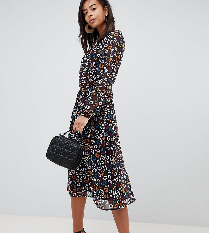 Lyst - Y.A.S Tippa Animal Print Dress 02b9a3d21