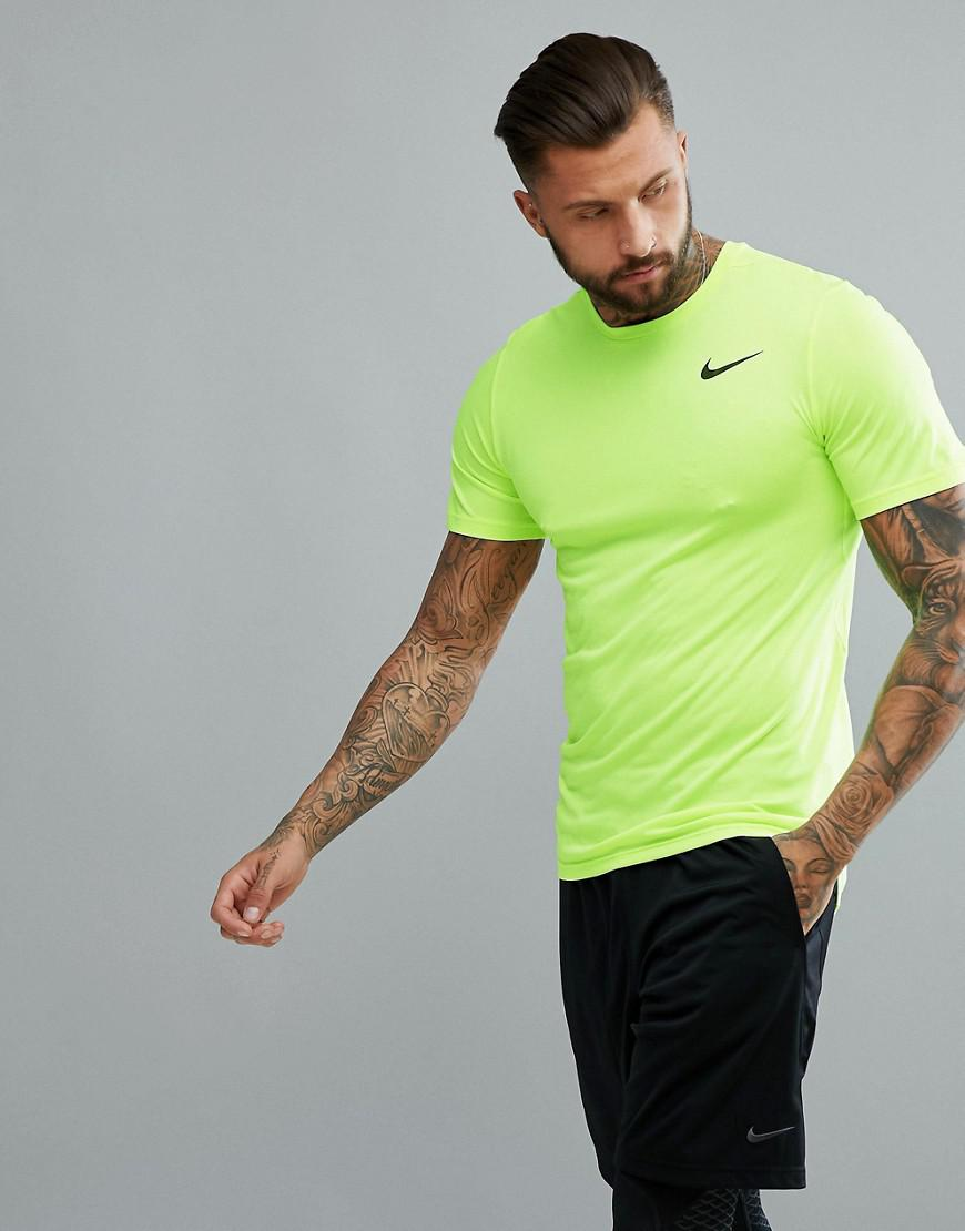 Yellow Breathe For Hyper Shirt 703 Nike T In 832835 Dry nYZdUB