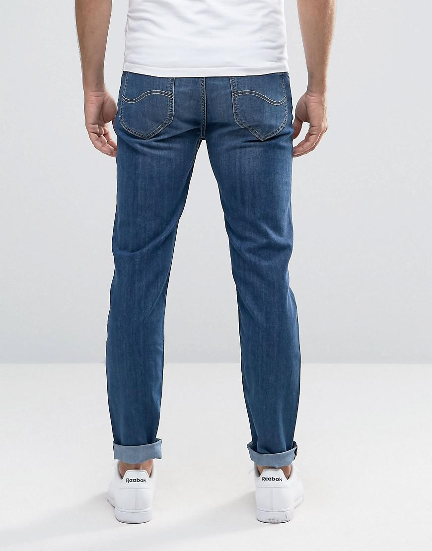 669a6549 Lee Jeans Jeans Arvin Stretch Slim Tapered Fit Blue Legacy Mid Wash ...