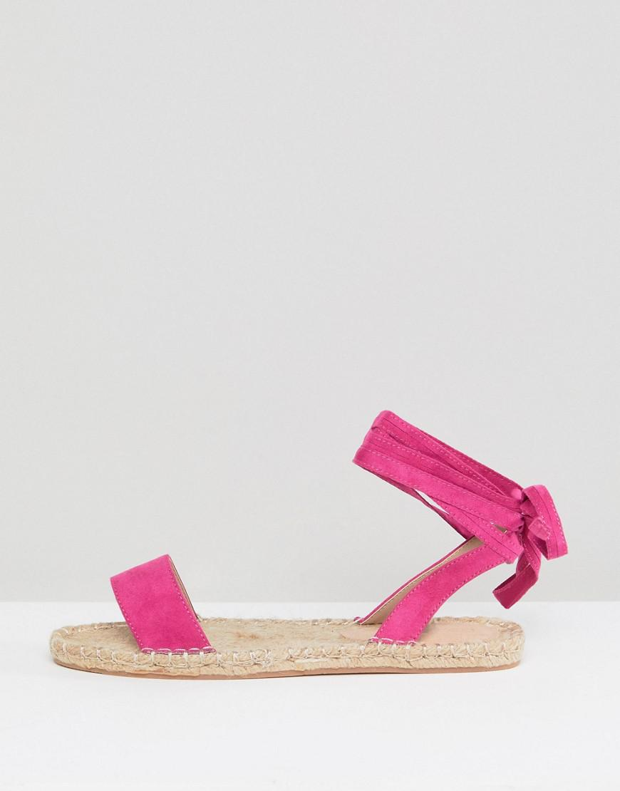 9b6655992a5d Lyst - ASOS Jenica Two Pack Espadrille Sandals