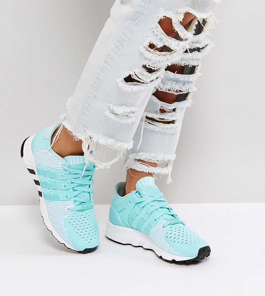Lyst Adidas Originali Originali Eqt Sostegno Delle Scarpe Da Ginnastica Primeknit