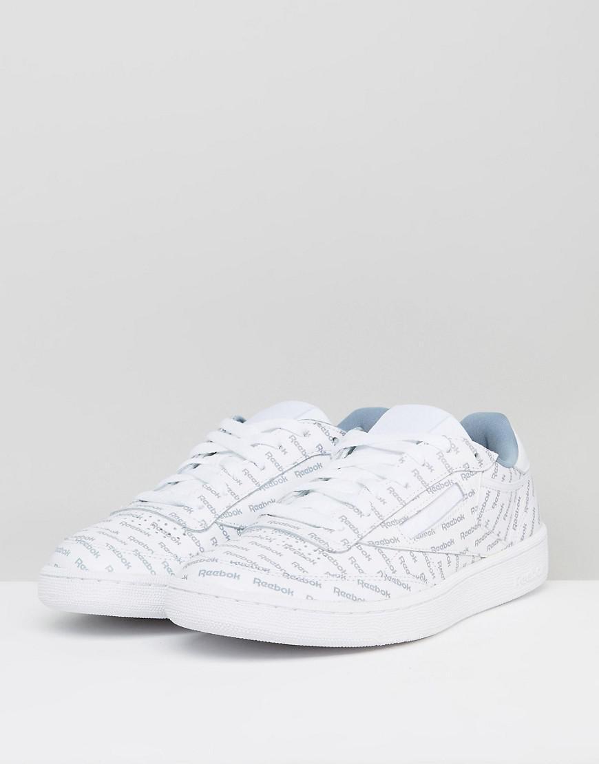 59dda4436f2d Reebok Club C 85 So Sneakers In White Bs5215 in White for Men - Lyst