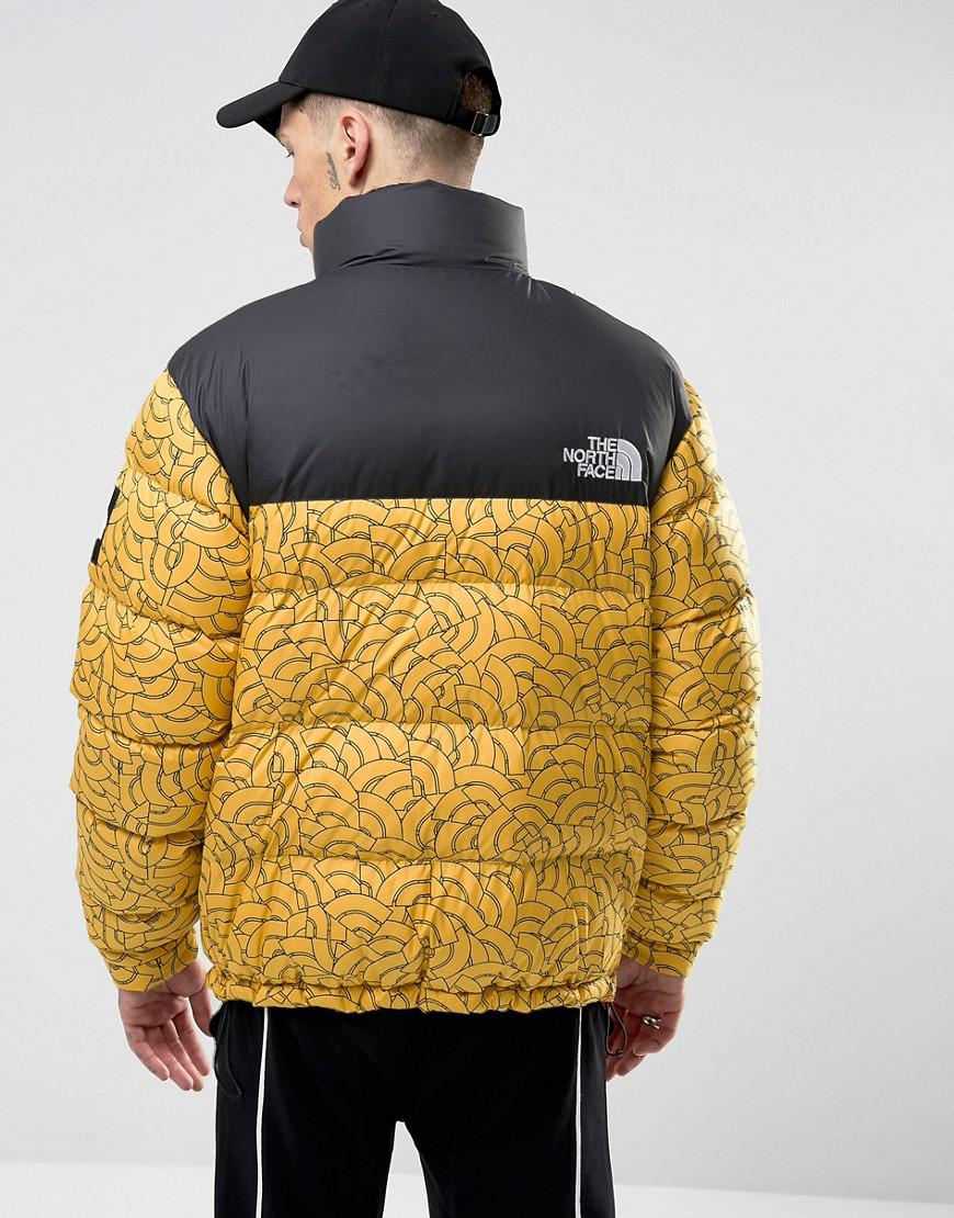d114250055 ... Down Jacket Lyst - The North Face Black Label 1992 Nuptse Jacket Yellow  ...