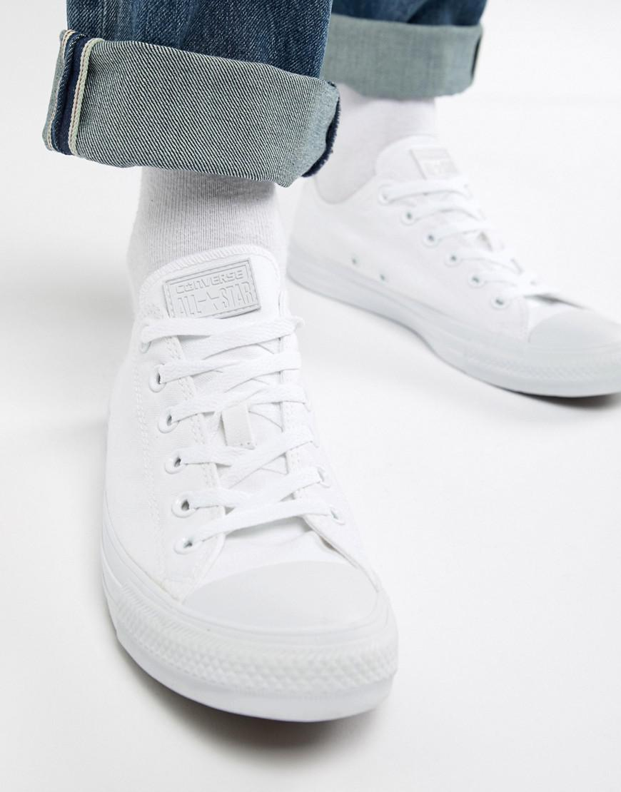 86228f9be1f7 Converse All Star Ox Plimsolls In White 1u647 in White for Men - Lyst