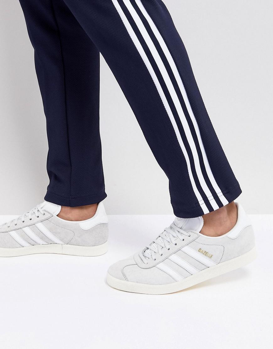 newest 2540c c913d adidas Originals. Mens Gazelle Trainers In White Cq2799