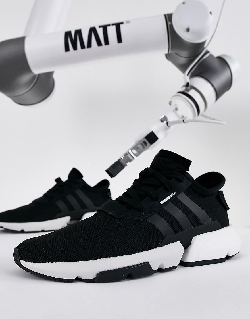 Lyst - adidas Originals Pod-s3.1 Sneakers In Black B37366 in Black ... 1b3d440e7
