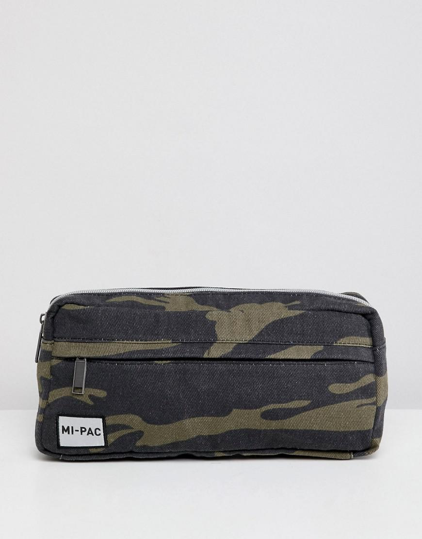 adafeb886a Mi-Pac Bumbag In Camo in Green for Men - Lyst