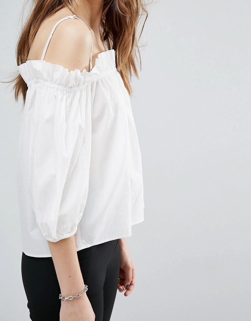 competitive price 5ab7f 6bdf2 vero-moda-White-Exposed-Shoulder-Puff-Sleeve-Top.jpeg