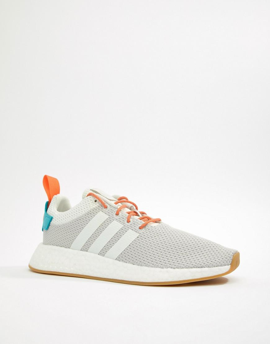 a1fdd7f1b05ba2 Lyst - adidas Originals Nmd R2 Boost Summer Trainers In White Cq3080 in  White for Men