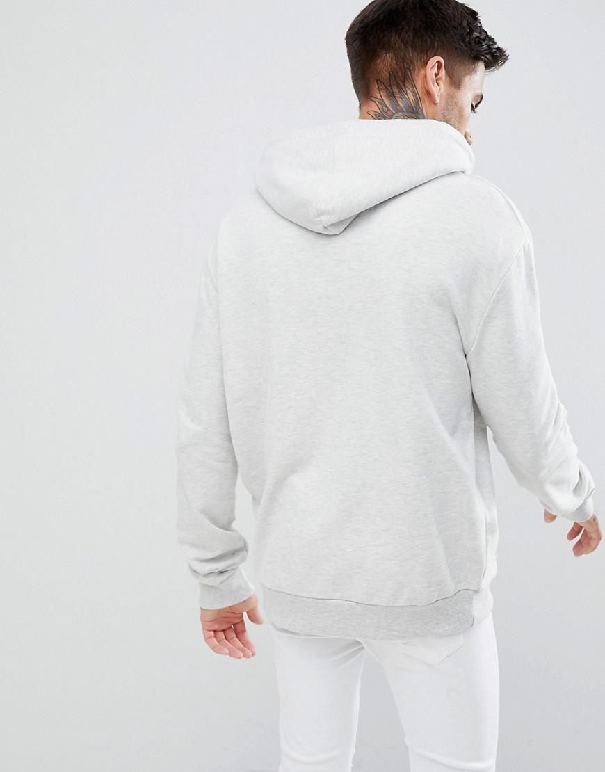 Marl Hoodie Look For Gray New In Men Print Lyst Grey 06ZqUAR