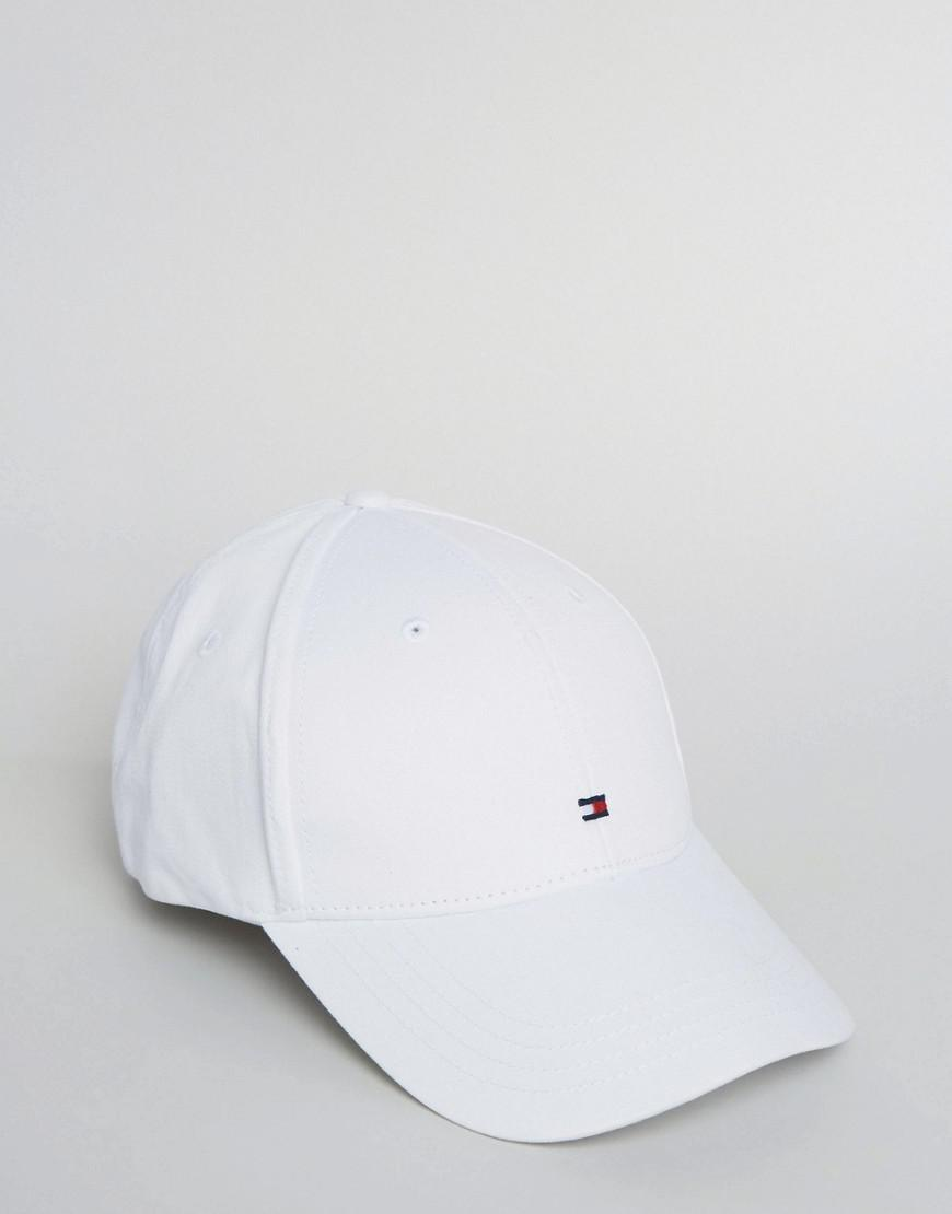 2c5e549e Tommy Hilfiger Classic Baseball Cap in White for Men - Save 17% - Lyst