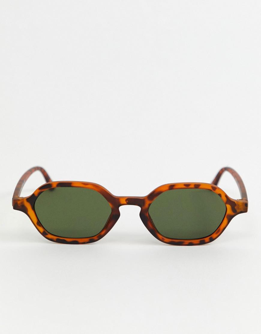 81217daa4c A.J. Morgan Slim Square Sunglasses In Tort in Brown for Men - Lyst