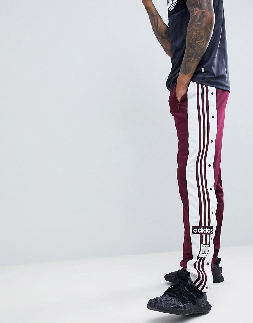 Lyst - adidas Originals Adibreak Popper Joggers In Red Dh5752 in Red ... 8b03880cfd9