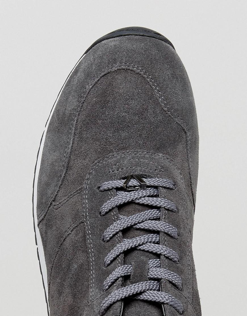 61b8941163 Lyst - Vagabond Apsley Suede Runner Trainers in Gray for Men