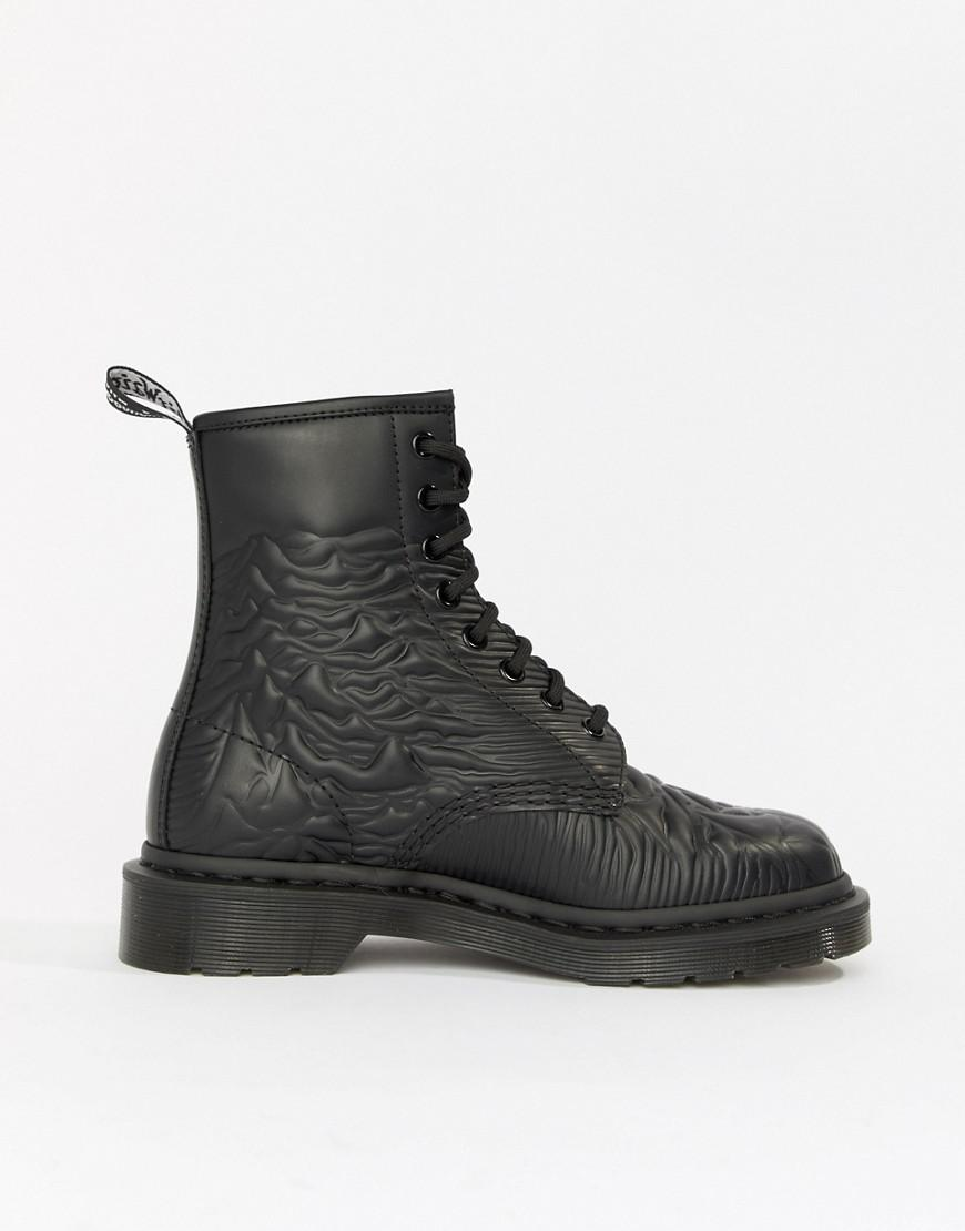 sale comfortable cheap sneakernews Dr Martens x Joy Division 1460 black flat ankle boots free shipping countdown package very cheap sale online HFVVrpvy