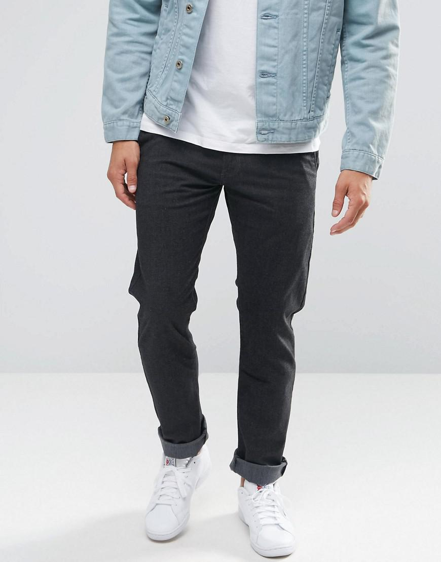 552b898e Lyst - Lee Jeans Arvin Slim Tapered Chino Atom Grey in Gray for Men