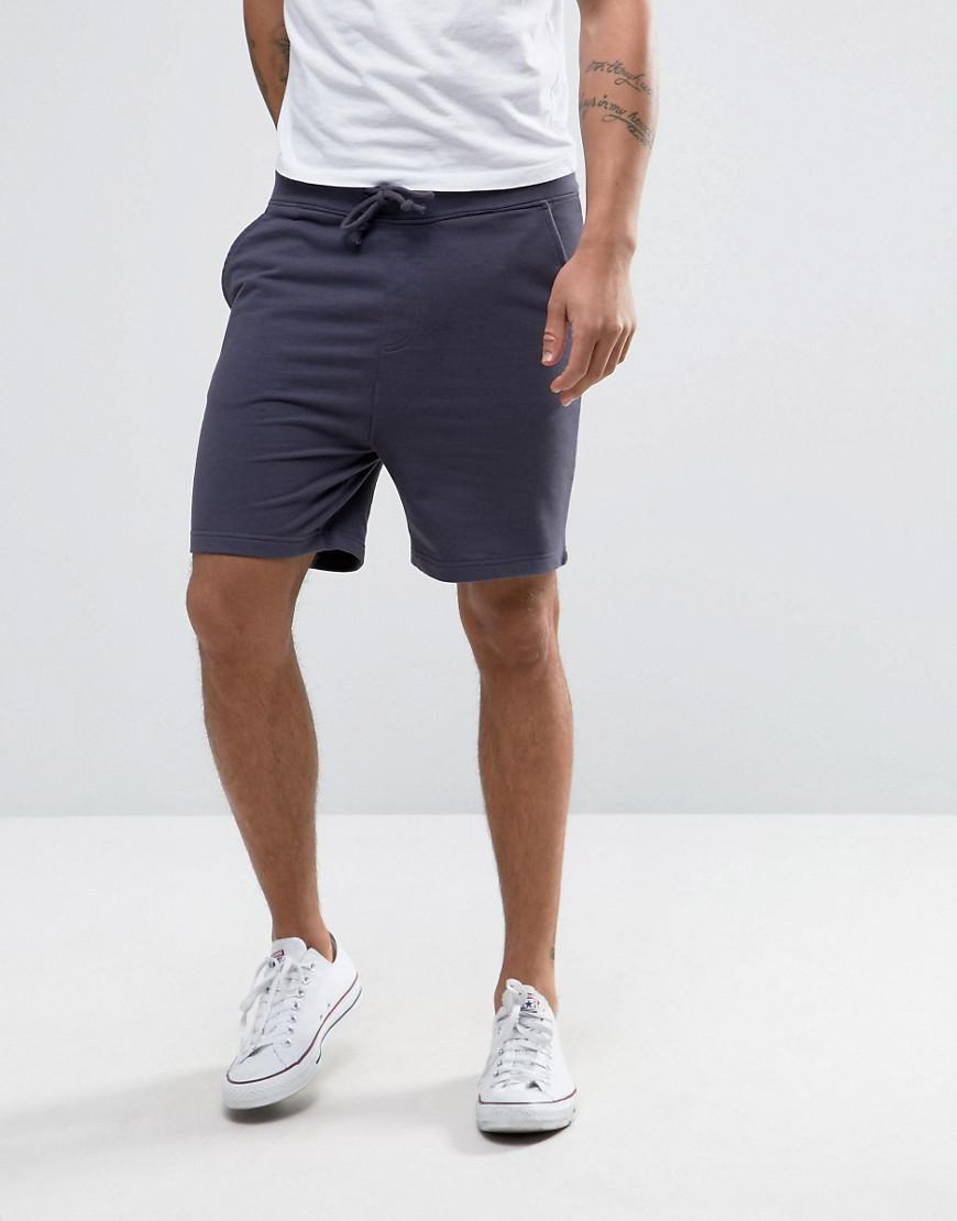 Basic Peached Jersey Shorts - Navy Another Influence NzKfjsjh6
