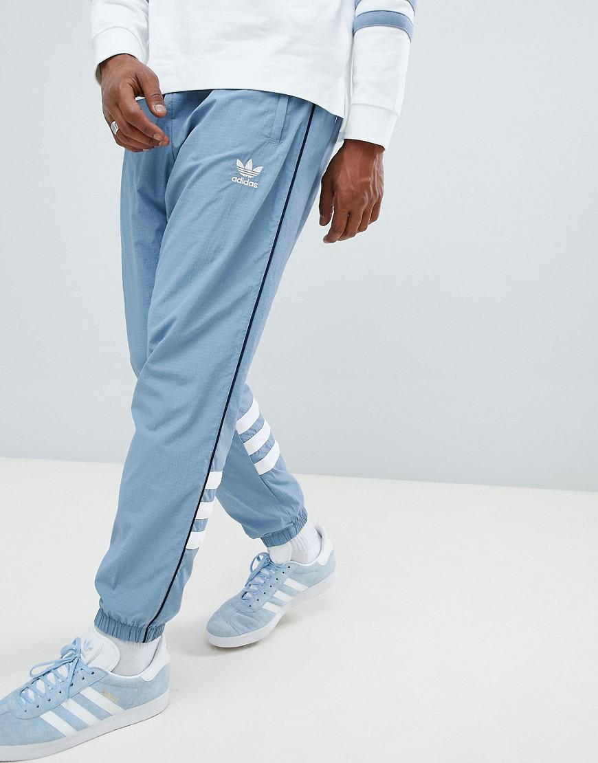 e0963a21d8c adidas Originals Authentic Ripstop Joggers In Grey Dh3840 in Gray ...