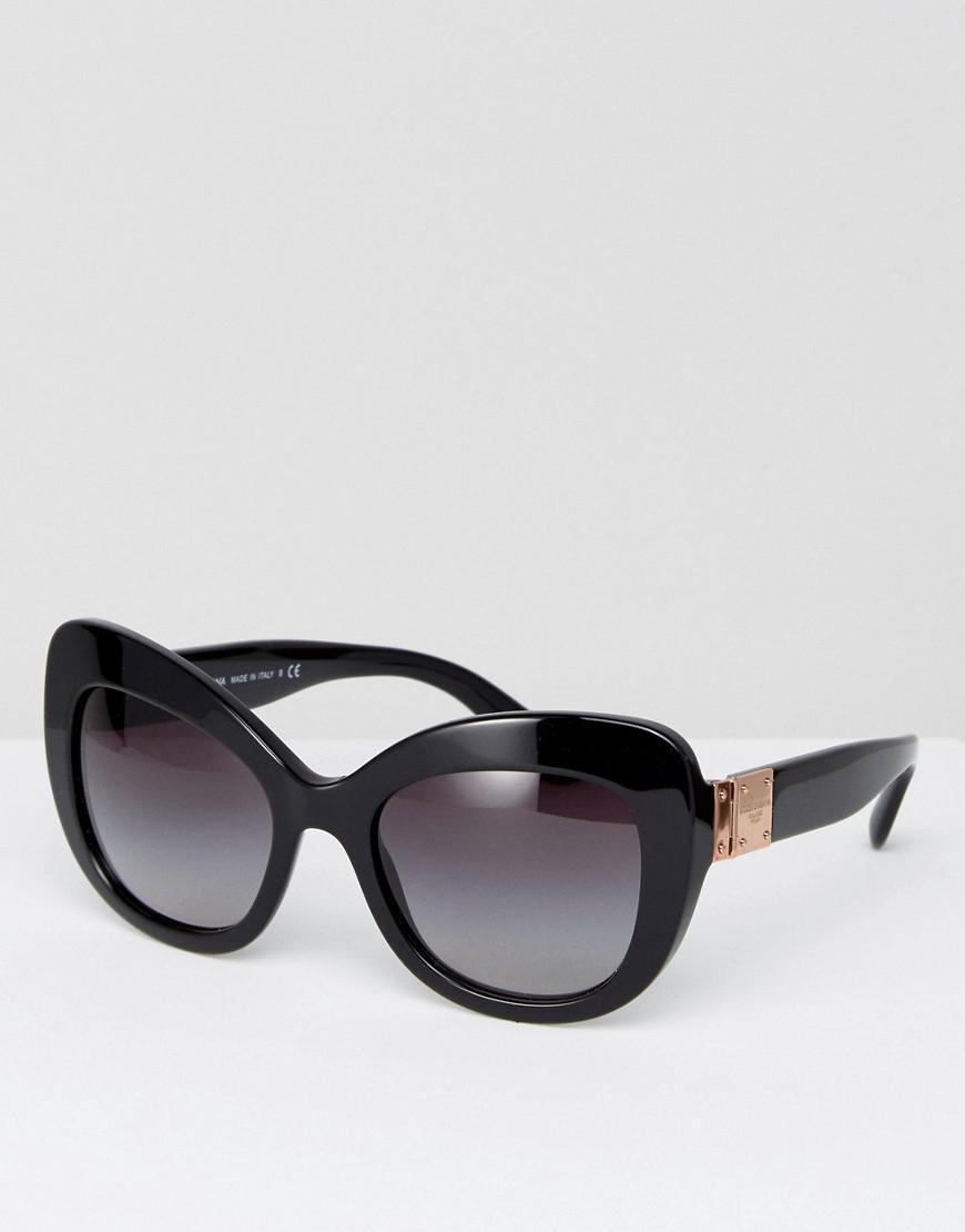51285529ded Lyst - Dolce   Gabbana Dolce   Gabanna Classic Cateye Sunglasses In ...