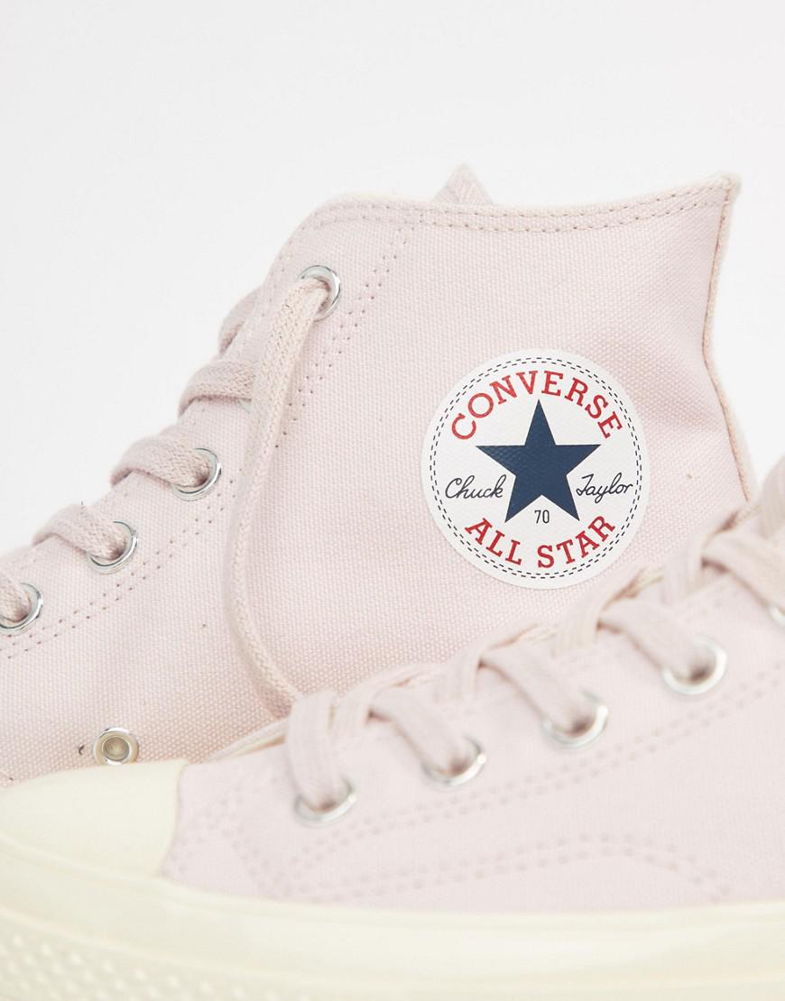 24c057c65de7 Lyst - Converse Chuck Taylor All Star  70 Hi Plimsolls In Pink ...