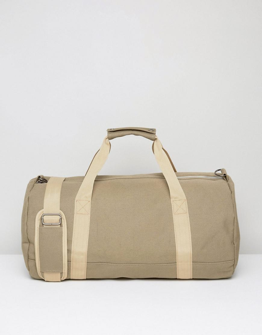 Lyst - Mi-Pac Canvas Duffel Bag In Khaki in Green for Men e96c1a8d69321