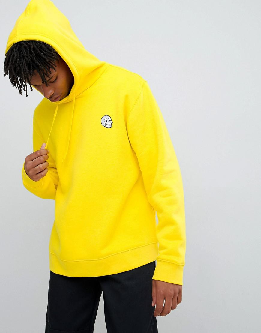 ab718a116 Cheap Monday Basic Skull Yellow Hoodie - Mens S in Yellow for Men - Lyst