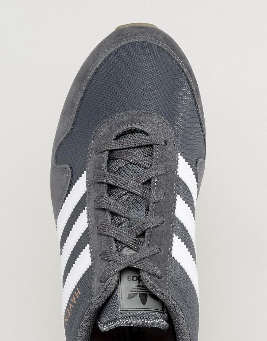 b2ad0bb4187e Lyst - adidas Originals Haven Sneakers In Gray By9715 in Gray for Men