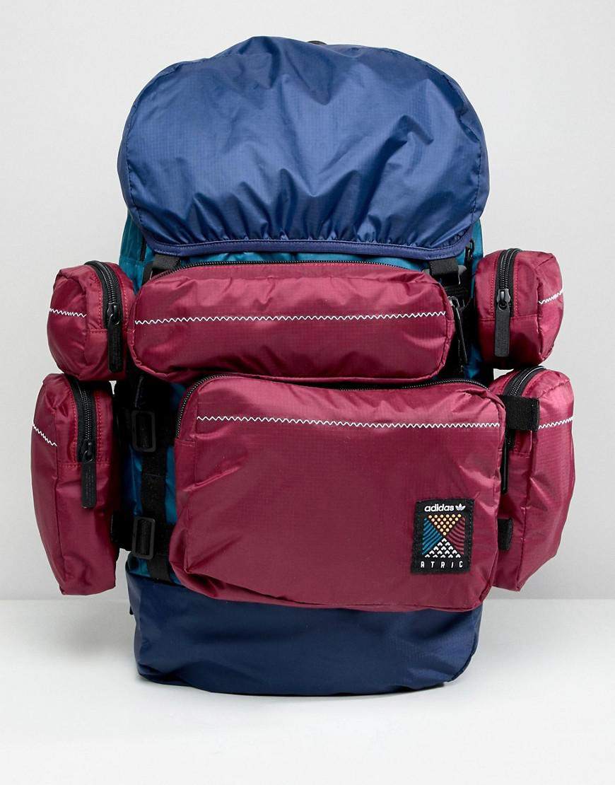 f720db91a6 Adidas Originals Atric Backpack In Blue Ce2372 in Blue - Lyst
