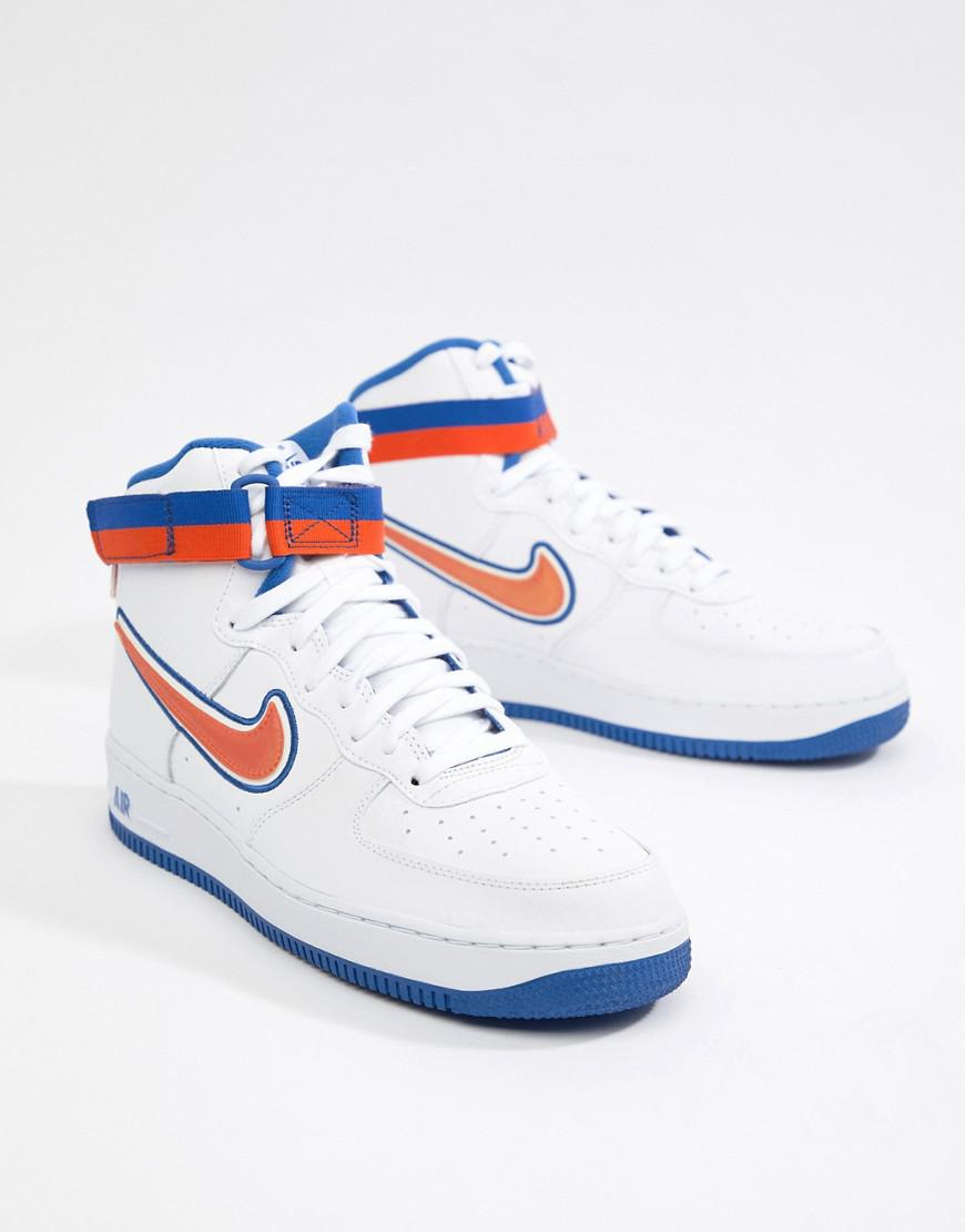 Nike NIKE air force 1 high sneakers men AIR FORCE 1 07 LV8 SPORT AV3938 100 white [load planned Shinnyu load in reservation product 1015 containing]