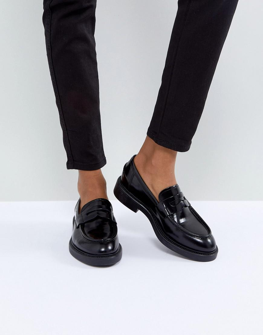 babbecc2ad1 Lyst - Vagabond Alex Black Leather Loafer in Black