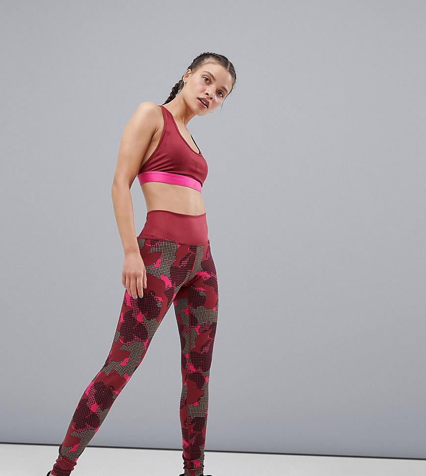 f86e4fa5dd461 Adidas - Green Training Camo Print Leggings - Lyst. View fullscreen