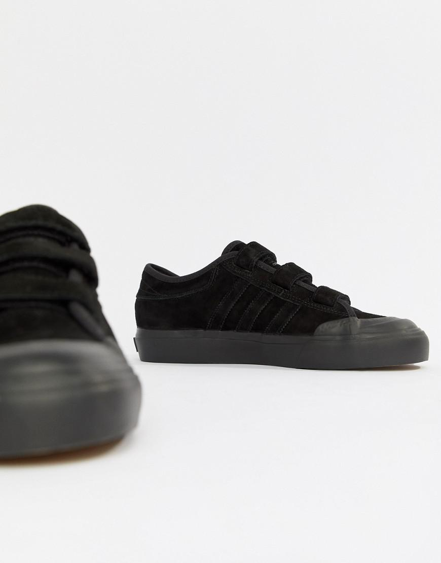 a5c73097cf36 Lyst - adidas Originals Adidas Skate Boarding Matchcourt Cf Sneakers With  Straps in Black
