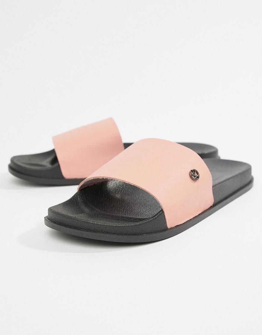 575057fe0d5 KG by Kurt Geiger Kg By Kurt Geiger Slider Flip Flops In Pink in ...