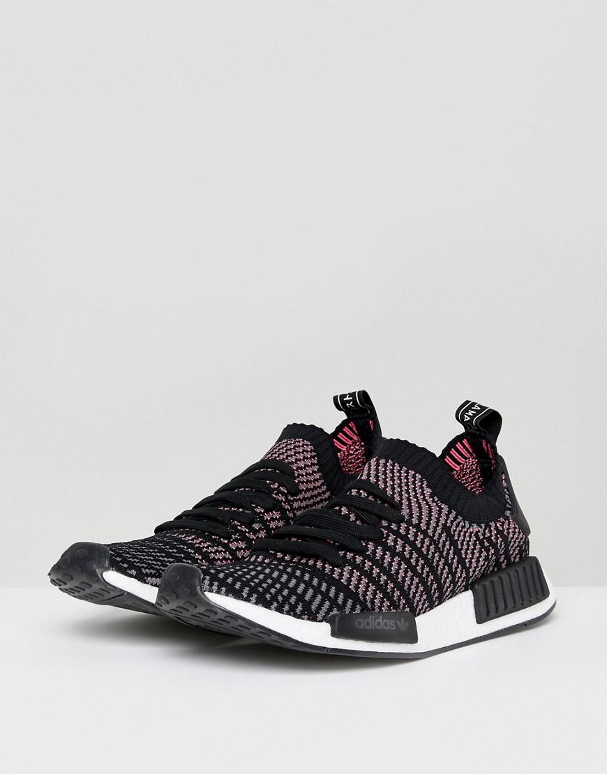 finest selection c816f 729db adidas Originals Nmd R1 Stlt Trainers In Black Cq2386 in Black for Men -  Save 35% - Lyst