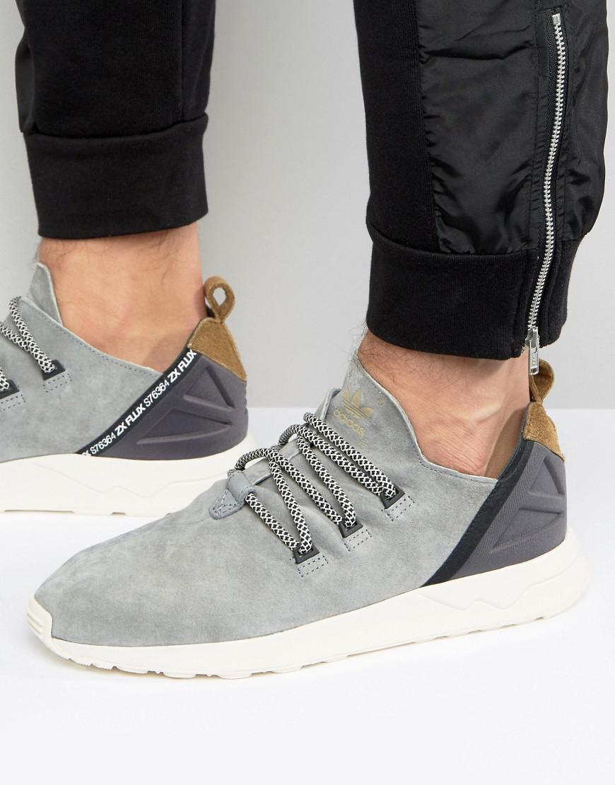 separation shoes c8a06 5ba41 adidas Originals Zx Flux Adv X Sneakers In Gray in Gray for Men - Lyst